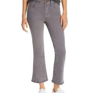 Frame Denim Le Crop Mini Boot Sateen Jean